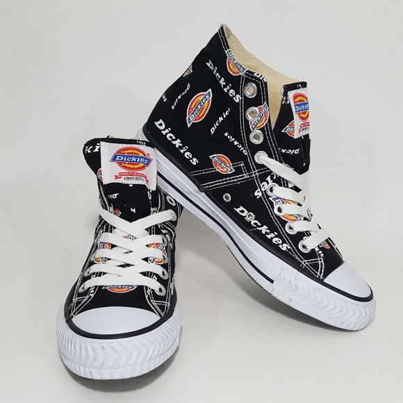 15ce6e070d6 Dickies High Top Canvas Sneakers Shoes